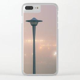 Winter Fog #5 Clear iPhone Case