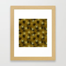 Celestine (Yellow) Framed Art Print