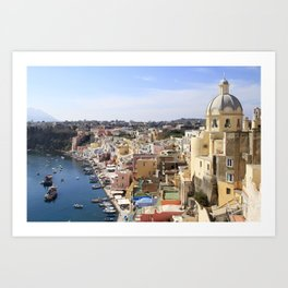Hydrofoil to happiness Art Print