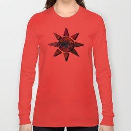 wet paint fractal  Long Sleeve T-shirt
