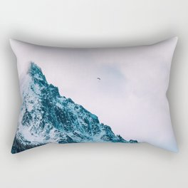 Mountain man Rectangular Pillow