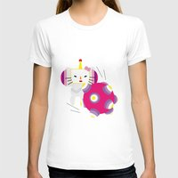 katamari T-shirts featuring Katamari Kitty by Martine Verfaillie