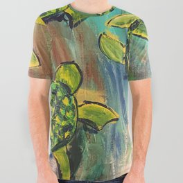 Turtles All Over Graphic Tee