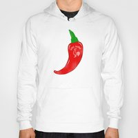 sriracha Hoodies featuring Chilli Sauce by Carlitos Way