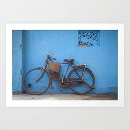 Indian Bicycle Art Print