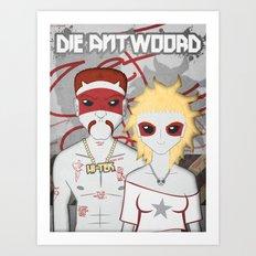 Die Antwoord Characters Art Print