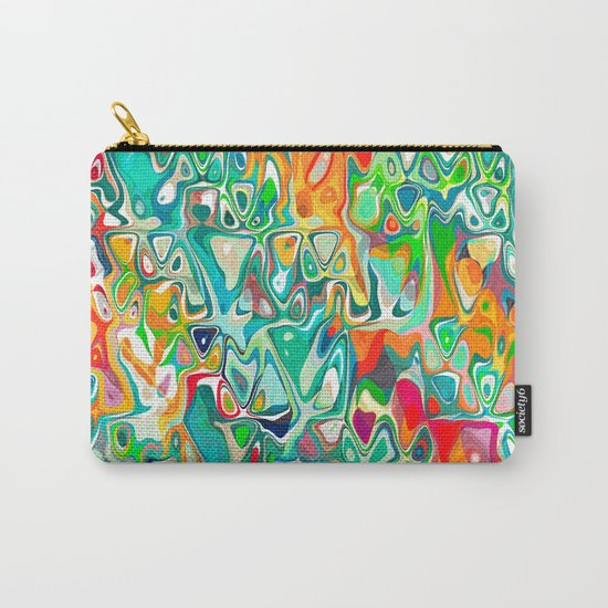 pattern art background  fun  music  Carry-All Pouch