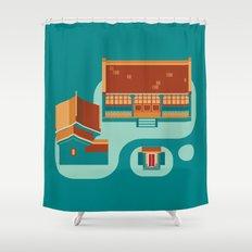 beijing icon Shower Curtain