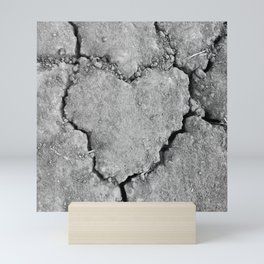 Ground Heart Mini Art Print
