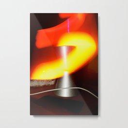 Lavalamp Metal Print