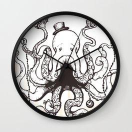 Octoluminary Wall Clock