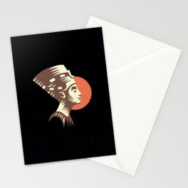 The last active ruler of the Ptolemaic Kingdom of Egypt, Cleopatra. Stationery Cards
