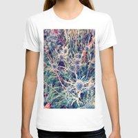 shabby chic T-shirts featuring Exotic Garden, shabby chic flowers, modern home decor by Scarlett Ella