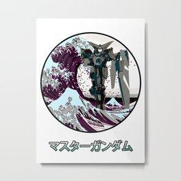 Great Wave Master G Metal Print