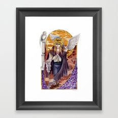 Beautiful Deceiver - Jareth of Labyrinth Framed Art Print