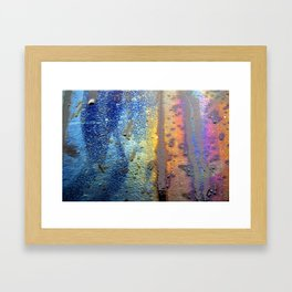 (t)Rainbow Framed Art Print