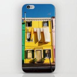 Beautiful Burano Italy iPhone Skin