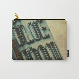Blue Room Neon Sign Carry-All Pouch