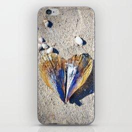 Beach Love by Sharon Cummings iPhone Skin