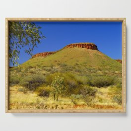 Red Mountain range, Northern Territory, Australia Serving Tray