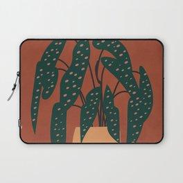 Boho Terracotta Begonia Laptop Sleeve