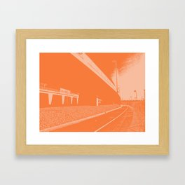 Bridge 11 Framed Art Print