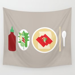 Sriracha Meal Wall Tapestry
