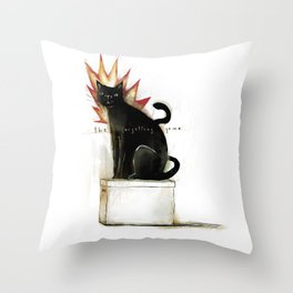 the forgetting game Throw Pillow