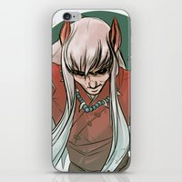 inuyasha iPhone & iPod Skins featuring Inuyasha by LaurenceBaldetti
