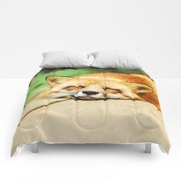 Cutie Foxy Nappy Comforters