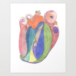 Drawing #6 Art Print