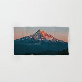 Mount Hood Sunset Hand & Bath Towel