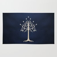 gondor Area & Throw Rugs featuring For Gondor by enthousiasme