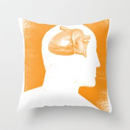 Stay Foolish Throw Pillow