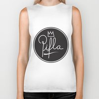 logo Biker Tanks featuring Logo by Pifla