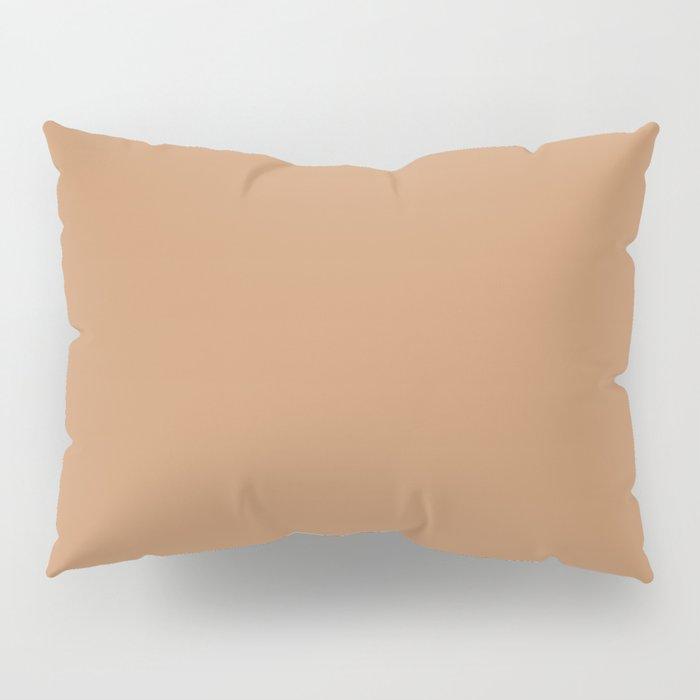 "Brown camel ""Butterum"" Pantone color Pillow Sham"