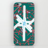 technology iPhone & iPod Skins featuring technology by daniel