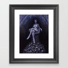 WULF Framed Art Print