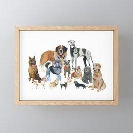 The Pack Framed Mini Art Print