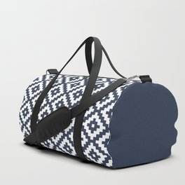 Nordic geometric pattern Duffle Bag