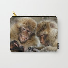 Barbary Macaques Carry-All Pouch