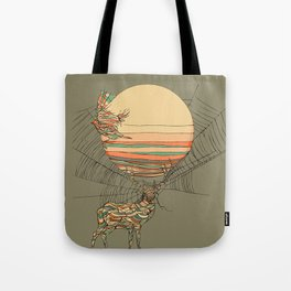 The Haunting Idle Tote Bag
