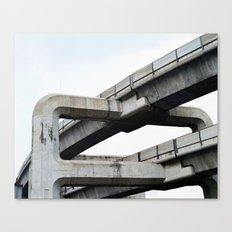 Concrete O1 Canvas Print