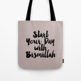 Start Your Day Tote Bag
