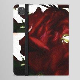 Red Love Rose  II iPad Folio Case