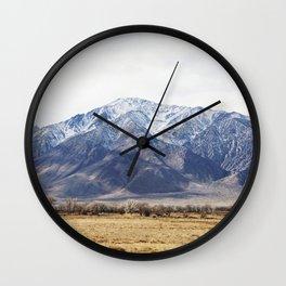 Sierras Wall Clock