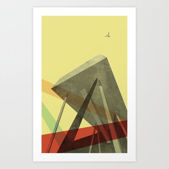 Sharp Centre for Design, OCAD University Art Print