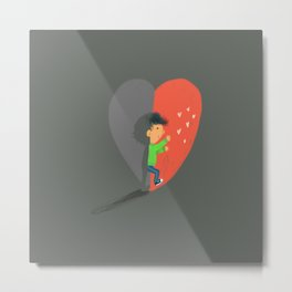 Boy in Love #4 Metal Print