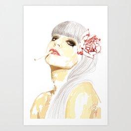Out-Portrait Art Print