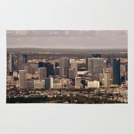 Paysage urbain de La Défense, Paris // La Défense, Paris Cityscape Rug